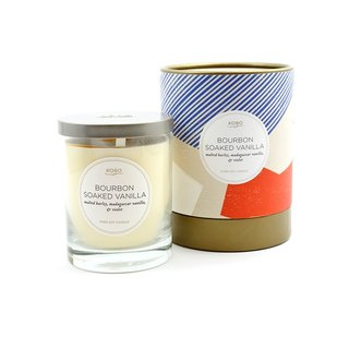 [KOBO - US soybean oil candles - vanilla whiskey (330g / combustible 80hr)