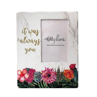 Desert Chic Photo Frame Block - Always