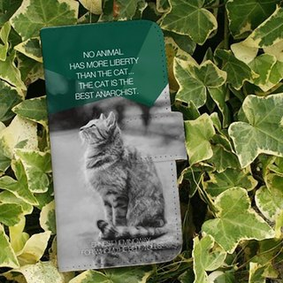 【All models supported】 Free shipping 【Handbook type】 Hemingway's cat and smart case iPhone 8 / iPhone 8 Plus / iPhoneX