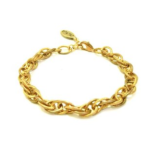 [UNA- excellent Na] handmade wild _Ⓖ basic shape models copper brass chain bracelet