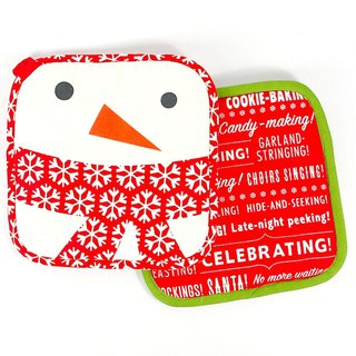 Warm cloth insulation mat 2 into [Hallmark Gift Christmas Series]