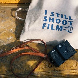 【Text bag】 Printed cotton bag - I still shoot film
