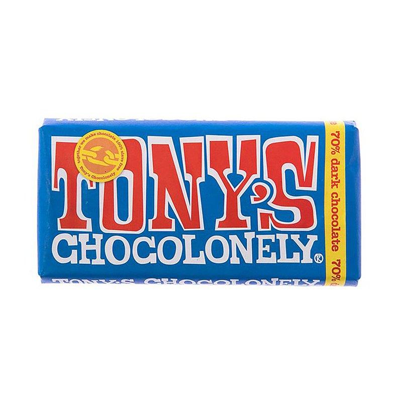 東尼寂寞巧克力_黑巧克力 70%_公平貿易