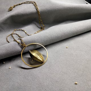 Planting Series / Brass Fruit Design Long Chain (Solo Product Sold Only One Piece)