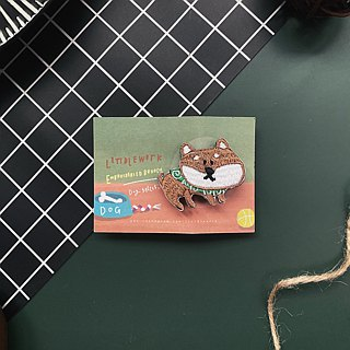 Littdlework Small Animal Pins | Shiba Wang