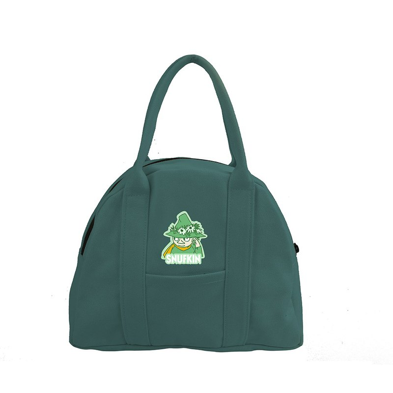 Moomin 噜噜米 authorized - half moon handbag (dark green), AE04