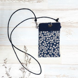 Cherry blossoms phone bag