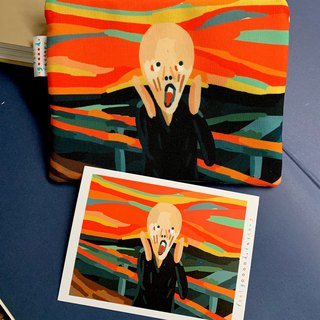Canvas Pencil Case  ( The Scream )