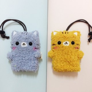 Woolen knitted animal key case _1 + 1 combination offer (can be combined with animal combination)