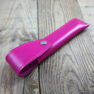 APEE leather manual ~ pen cover ~ pink