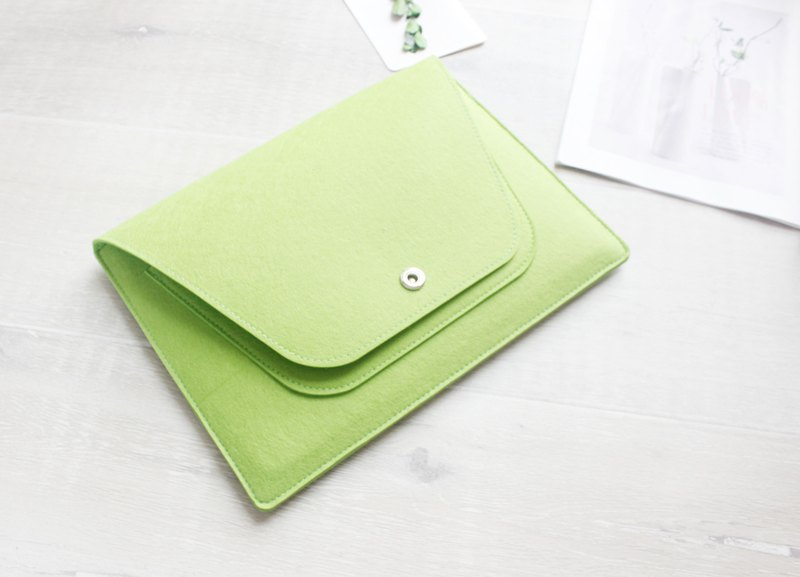 Felt computer case 2017 new MacBook Pro 13 吋 pen electric bag computer bag 081