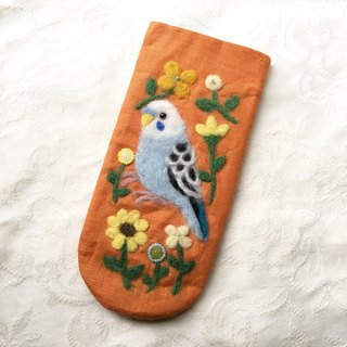 glasses case of budgerigar