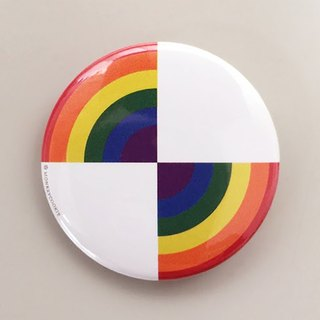 Badge rainbow light speed constant