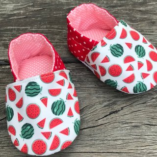 Small watermelon toddler shoes - baby shoes