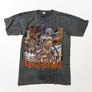 [3thclub Ming Ren Tang] Classic Iron Maiden Mission Tee Iron Lady vintage BTE-011