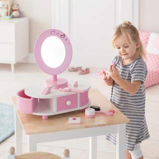 Little Princess must have. Wooden dressing table