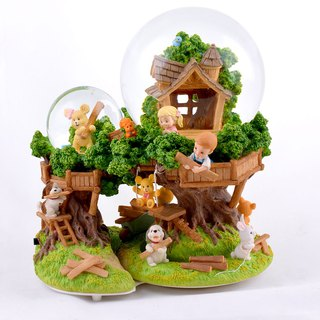 Little friend's forest secret base crystal ball music bell birthday gift home decoration