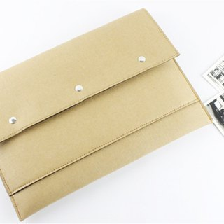 Special wash kraft paper new Macbook Retina Pro 13吋 computer bag pen package