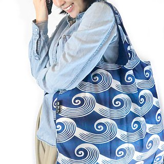 ENVIROSAX Australian Reusable Shopping Bag-Tokyo Waves