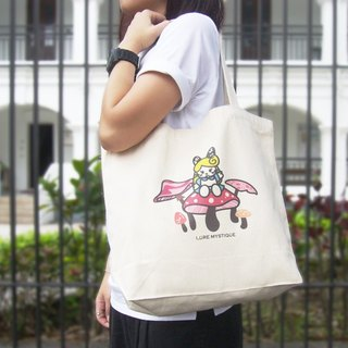 Lure Mystique - Karina Wonderland mushroom horizontal canvas bag canvas shoulder bag shopping bags