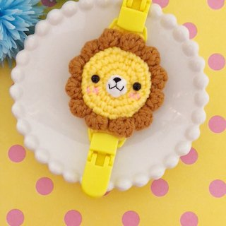 Chuchu hand lion lion double handkerchief folder
