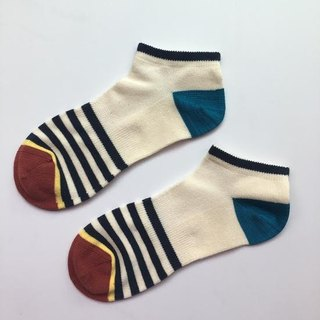 GillianSun Socks Collection【NEW Boat Socks】B1601NV_MEN