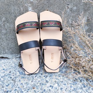 CLAVESTEP XII Sandals - Leather Sandals - Twelve - Spanish Rose