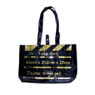Director Clap Tote Bag - Gold (Polyester)