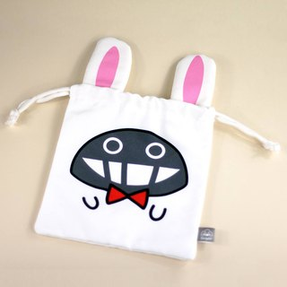 Dustykid Bunny Draw String Bag