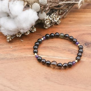 Intimate | Tea Crystal Labradorite Natural Stone Bracelet
