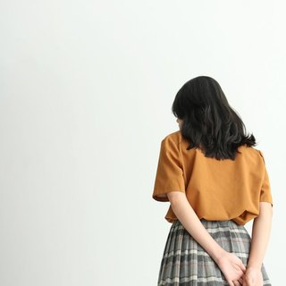 Checkered Skirt {Vintage} Ancient Gray Pattern Wool Skirt