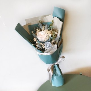 Morandi eternal bouquet / dry bouquet / dry flower / anniversary / confession flower / birthday gift