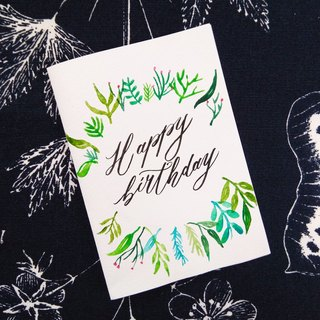 Mstandforc Floral Birthday Card|Handmade Card
