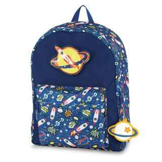 Tiger Family Fun Time stunned casual backpack - rocket spaceman