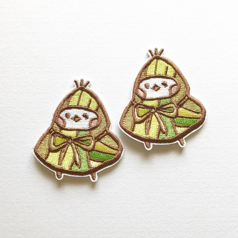 Zongzi (rice dumpling) Embroidered Patches