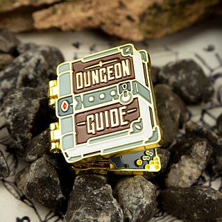 Dungeon Guide Enamel Pin