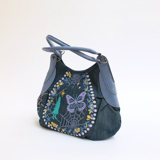Girl's dream embroidery · Granny bag