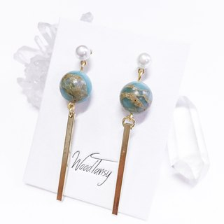 My little earth Non allergic earrings