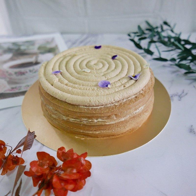 阿薩姆紅茶千層蛋糕