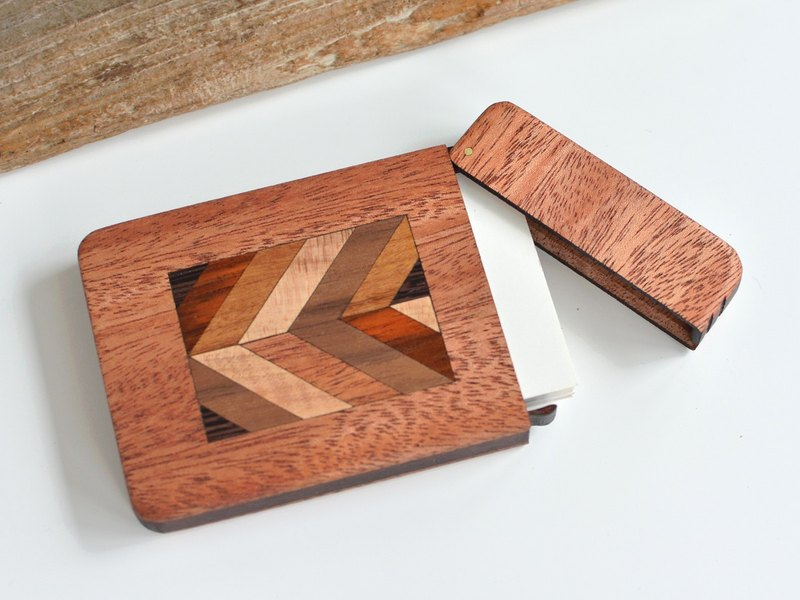 Wooden business card case parquet work business card case wooden business card case parquet work business card case colourmoves