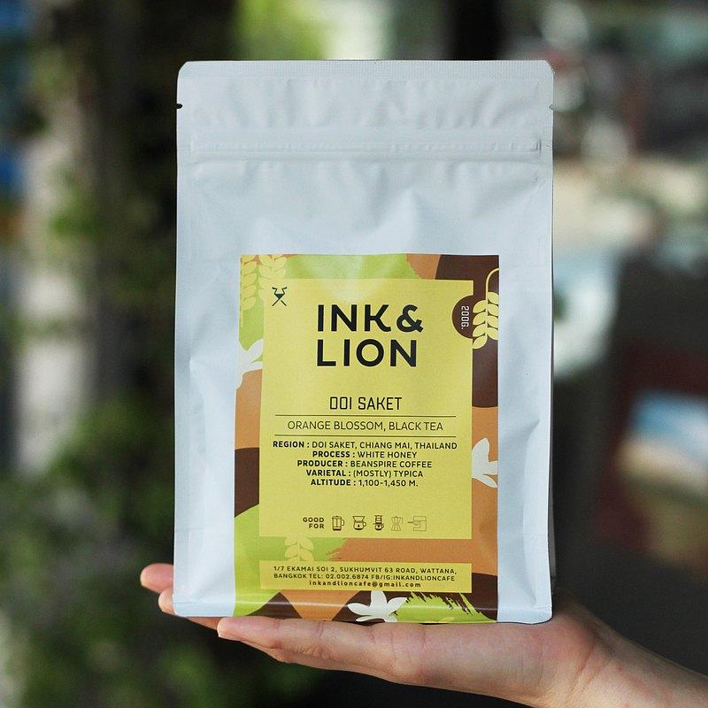 烘焙過的咖啡豆-泰國,土井沙革