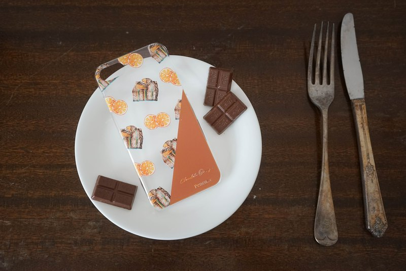 iPhone CASE | Chocolat Orange