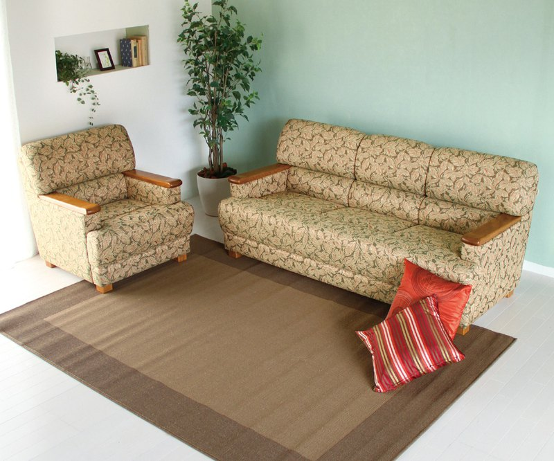 Asahikawa Furniture Miyata Sangyo JOY OAK (Joininara) Sofa