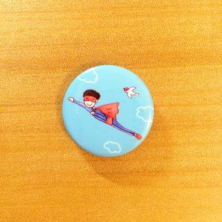 Darwa - be my hero - badge