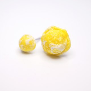 *Playful Design* Mango Ice-cream Earrings