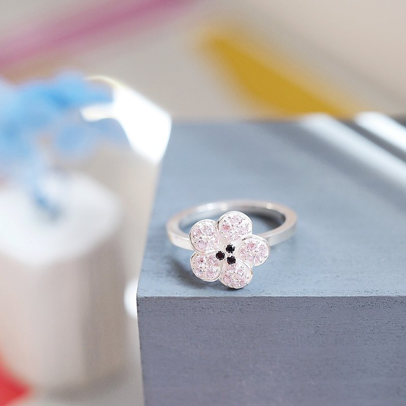 Cherry Blossoms 桜 Ring Silver925