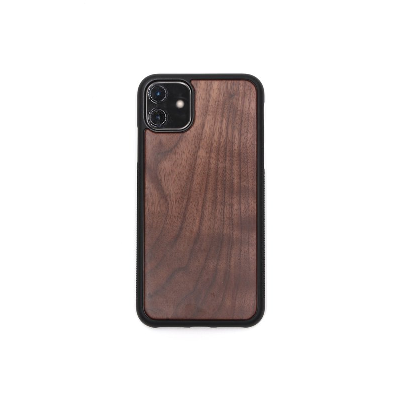 IPHONE11 Solid Wood Phone Case - Walnut