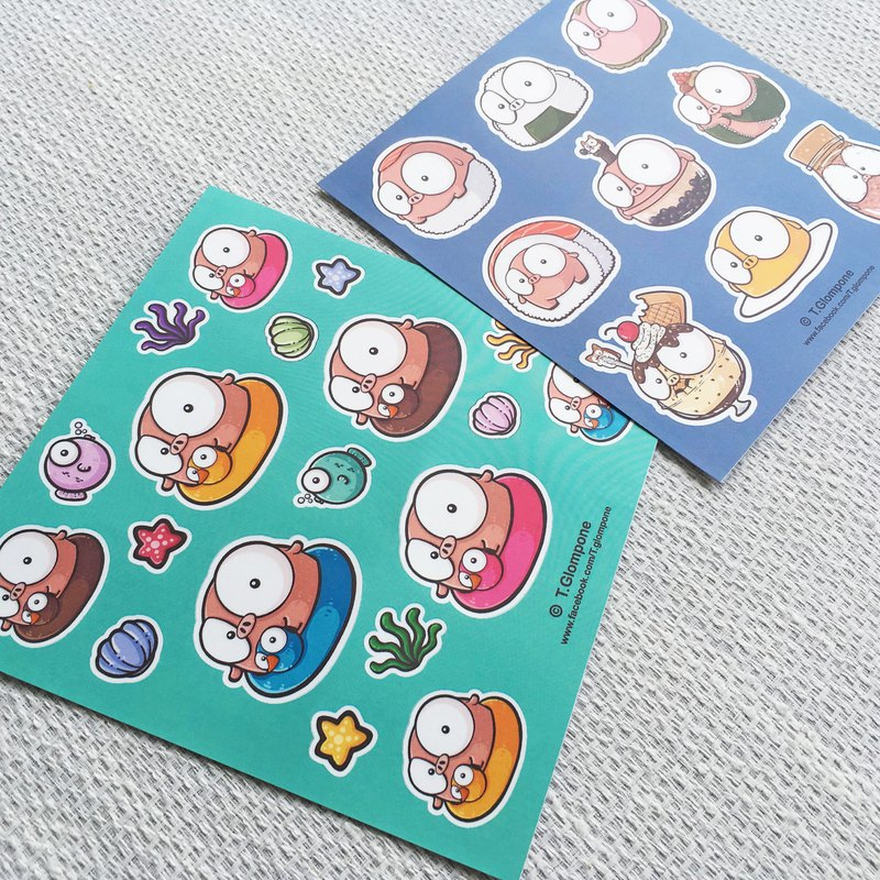 Sticker set (waterproof)