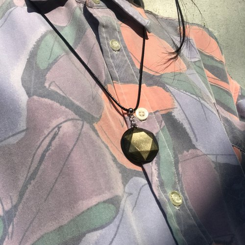 【Lost And Find】Natural OBSIDIAN necklace