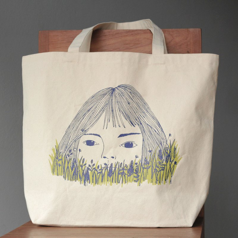 Sachiko Canvas Tote Bag